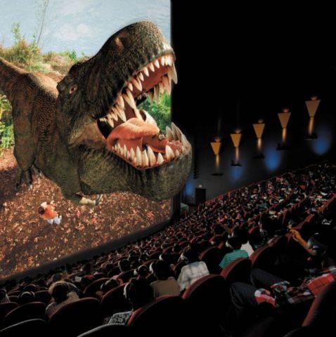 IMAX mozi, dinoszaurusz