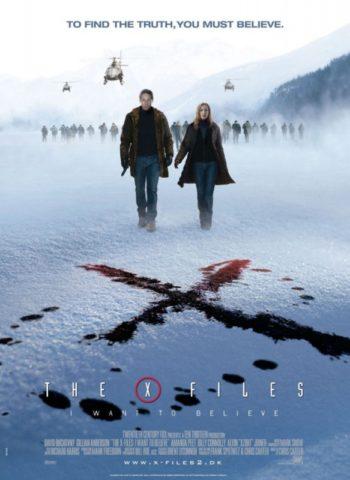 X-Akták: Hinni akarok, mozi poszter