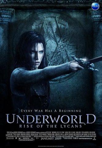 Underworld - A vérfarkasok lázadása mozi poszter