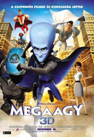 Megaagy 3D, mozi poszter
