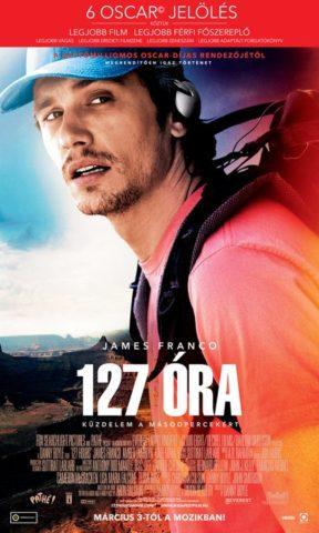 127 óra, film poszter