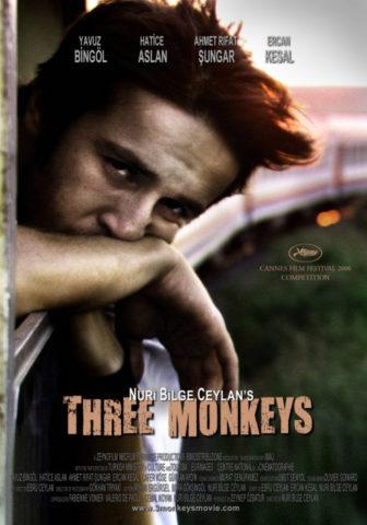Három majom, film poszter