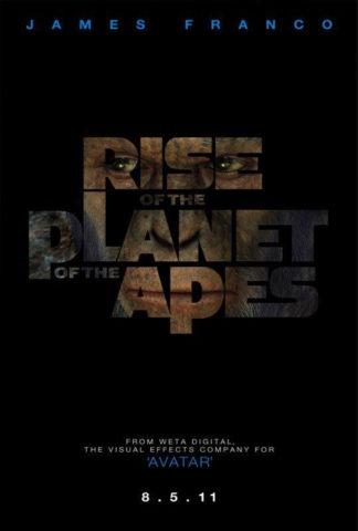 A majmok bolygója lázadás, film plakát