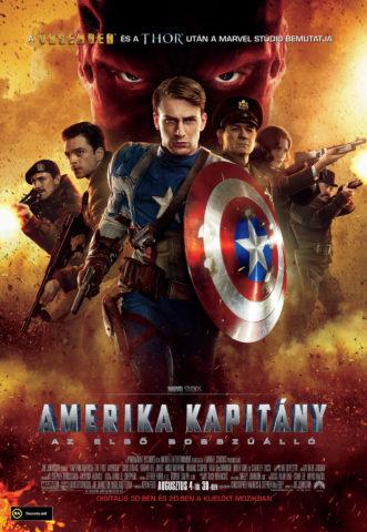 Amerikai Kapitány: Az első bosszúálló (Captain America: The First Avenger) 2011