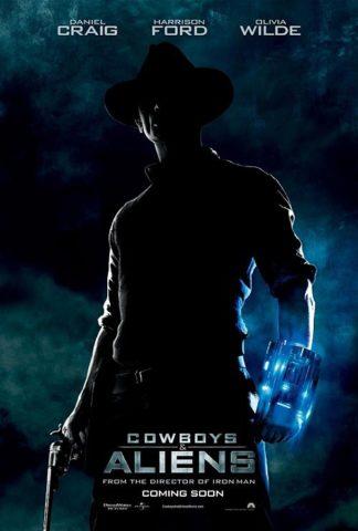 Cowboyok és űrlények, film plakát