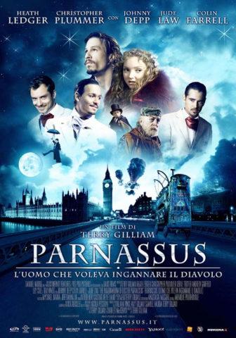 Doctor Parnassus és a képzelet birodalma, film plakát