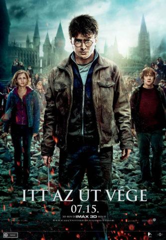 Harry Potter és a Halál ereklyéi 2, film plakát