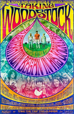 Woodstock a kertemben, film plakát