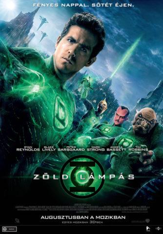 Zöld lámpás, film plakát