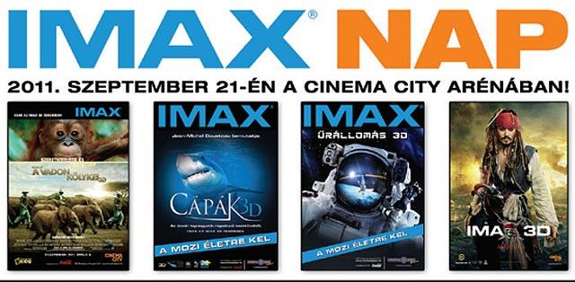 IMAX NAP – 2011. szeptember 21-én a Cinema City Arénában