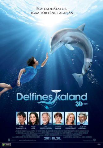 Delfines kaland 3D, film plakát