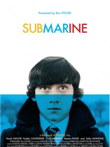 Submarine, film plakát