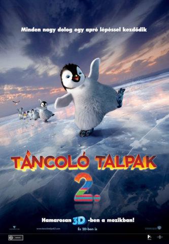 Táncoló talpak 2, film plakát