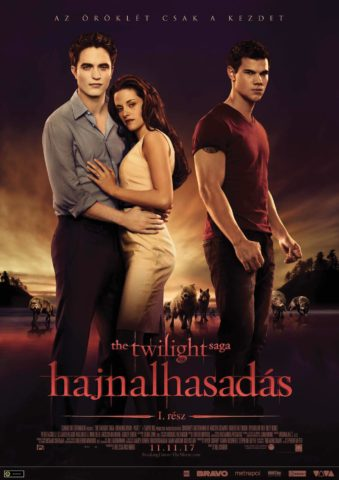 Alkonyat – Hajnalhasadás 1. rész (The Twilight Saga: Breaking Dawn – Part 1) 2011