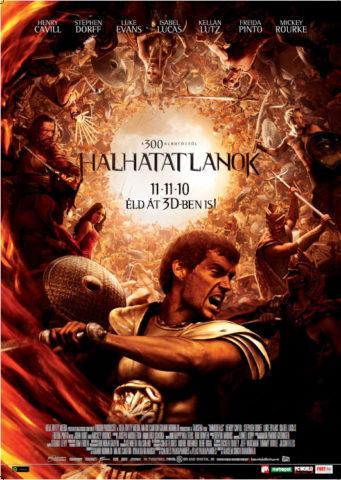 Halhatatlanok, film plakát