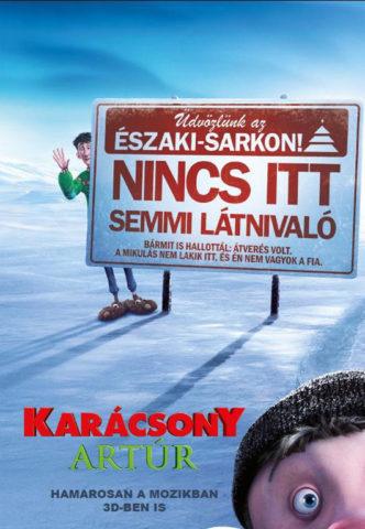 Karácsony Artúr 3D, film plakát