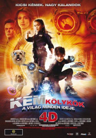 Kémkölykök 4D: A világ minden ideje (Spy Kids: All the Time in the World in 4D) 2011