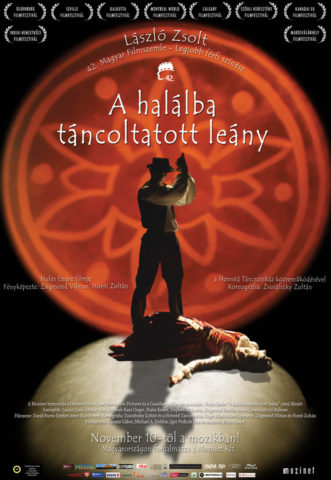 A halálba táncoltatott leány, film plakát