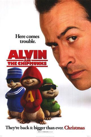 Alvin és a mókusok, film plakát