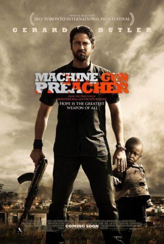 Gépfegyveres prédikátor, film plakát