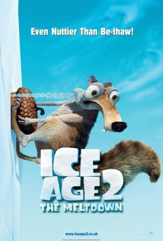 Jégkorszak 2 - Az olvadás, film plakát