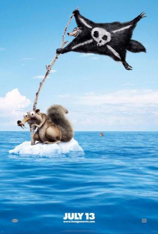 Jégkorszak 4 - A vándorló kontinens, film plakát