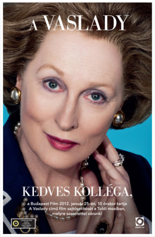 A Vaslady, film plakát