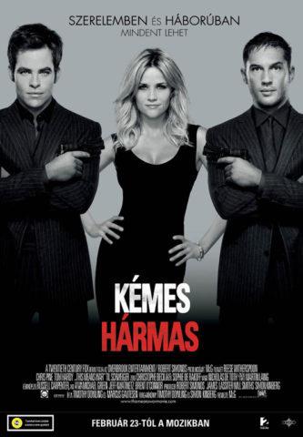 Kémes hármas, film plakát