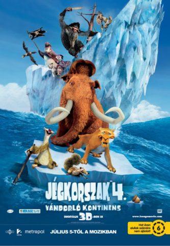 Jégkorszak 4 – Vándorló kontinens (Ice Age: Continental Drift) 2012
