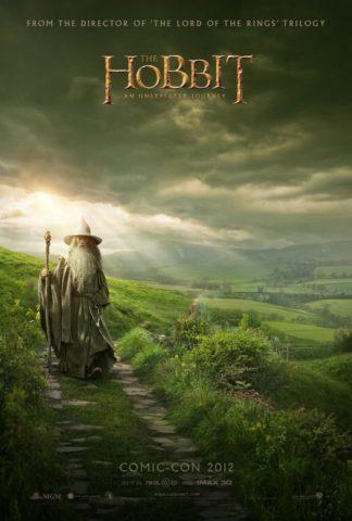 The Hobbit - Comin Con poszter
