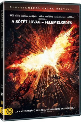 A sötét lovag – Felemelkedés november végén DVD-n és Blu-rayen is