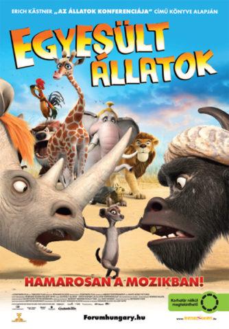 Egyesült állatok, film plakát