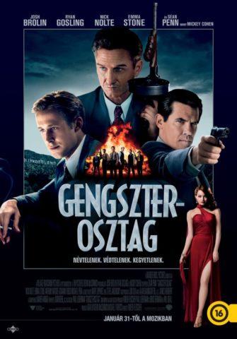 Gengszterosztag, film plakát