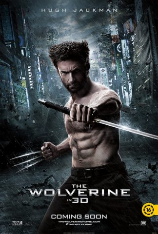 Farkas (The wolverine) angol film poszter
