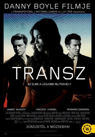 Transz, film plakát
