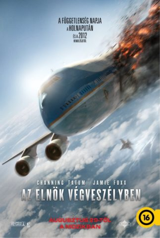 Az elnök végveszélyben, film poszter