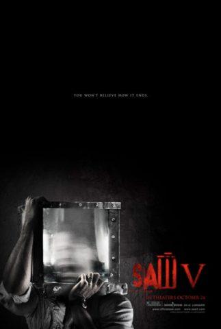 Fűrész V., film poszter