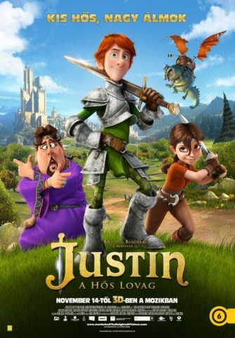 Justin, a hős lovag (Justin and the Knights of Valour) 2013