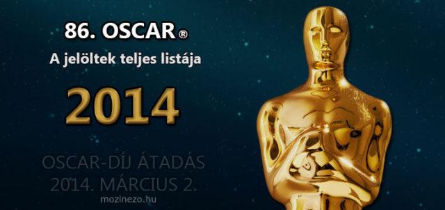 86. OSCAR 2014 – Jelöltek