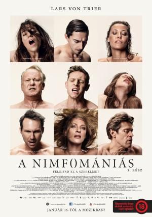A nimfomániás - 1. rész mozi poszter