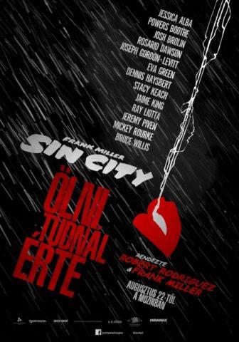 Sin City: Ölni tudnál érte magyar poszter
