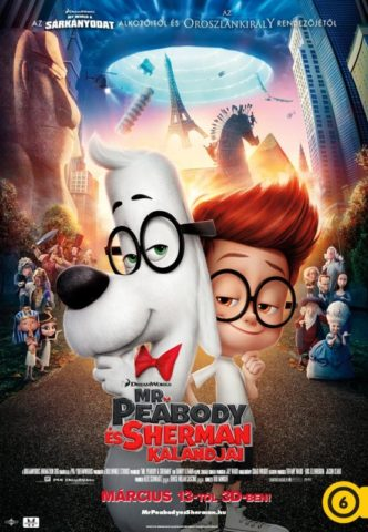 Mr. Peabody és Sherman kalandjai (Mr. Peabody & Sherman) 2014