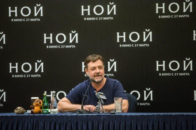 Russell Crowe Moszkvában