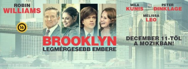 Brooklyn legdühösebb embere (The Angriest Man in Brooklyn) 2014