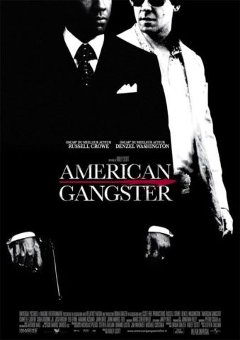 Amerikai gengszter mozi poszter