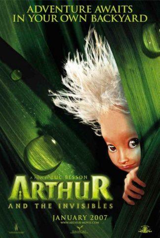 Arthur és a Villangók mozi poszter
