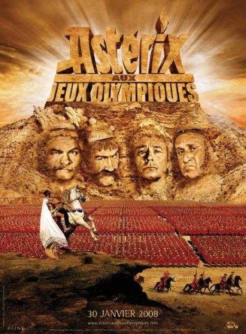 Asterix az Olimpián mozi poszter