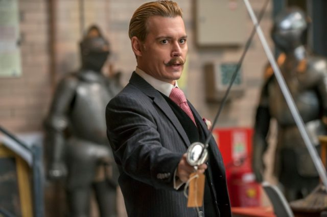 Johnny Depp a flúgos angol