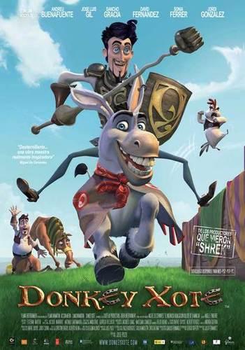 Don Quijote szamarancsa mozi poszter
