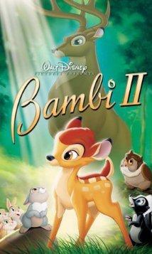 Bambi 2 mozi poszter